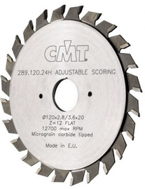 CMT Scoring Blade Ajustable Z24 120x20