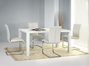 Pusdienu galds Halmar Ronald White, 1200x800x750 mm