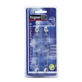 Halogeninė lempa Vagner SDH T12, 400W, R7s, 2800K, 8550lm, 2vnt.