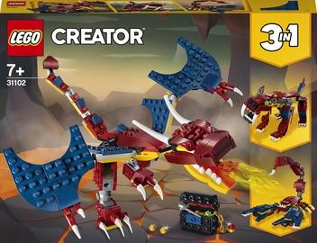 Конструктор LEGO Creator Огненный дракон 31102, 234 шт.