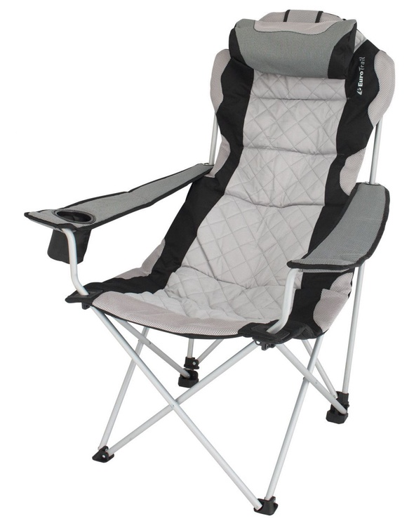 EuroTrail Julien Camping Chair Grey