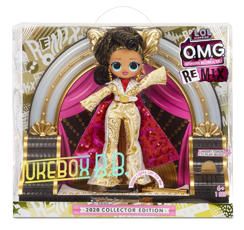 Кукла L.O.L. Surprise! OMG Remix Juke Box B.B. 569879