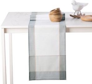 Piklik laudlina AmeliaHome Sevran, valge/helesinine, 1200 mm x 600 mm