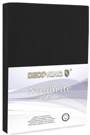 DecoKing Nephrite Bedsheet 80-90x200 Black