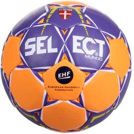 Select Mundo Mini Handball Orange/Purple