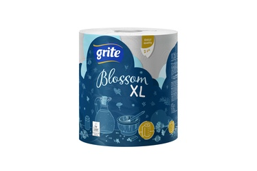 Popierinis rankšluostis Grite Blossom XL, 2 sl.