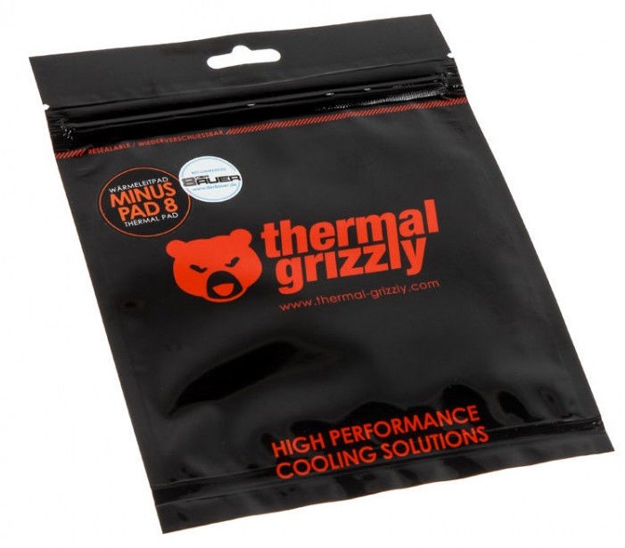 Thermal Grizzly Minus Pad 8 120x20x1.0mm 2 Pieces