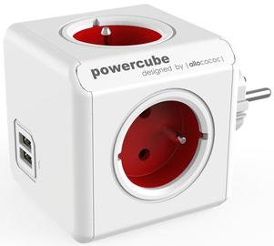 Удлинитель Allocacoc PowerCube Original USB Red