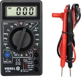 Vorel Digital Multimeter 81780 600V CAT I 5A