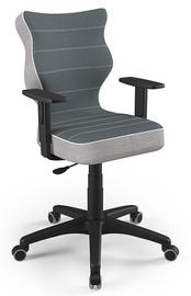 Детский стул Entelo Duo CR06, черный, 400 мм x 1000 мм