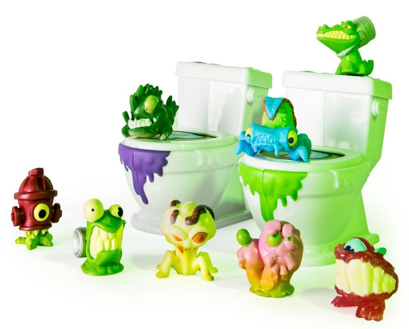 Žaislinė figūrėlė Spin Master Flush Force Bizzare Bathroom 8-Pack S1 6037317