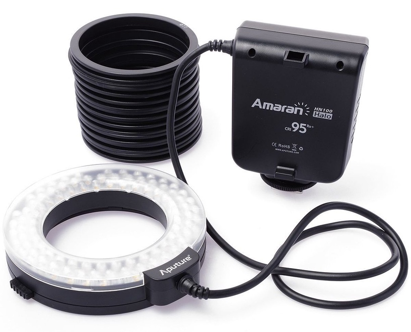 Aputure Amaran Halo AHL-HC100 CRI95+ LED Ring Flash