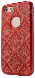 Mocco Ornament Back Case For Samsung Galaxy J5 J530 Red