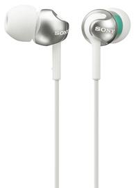 Ausinės Sony MDR-EX110AP/W White/Silver