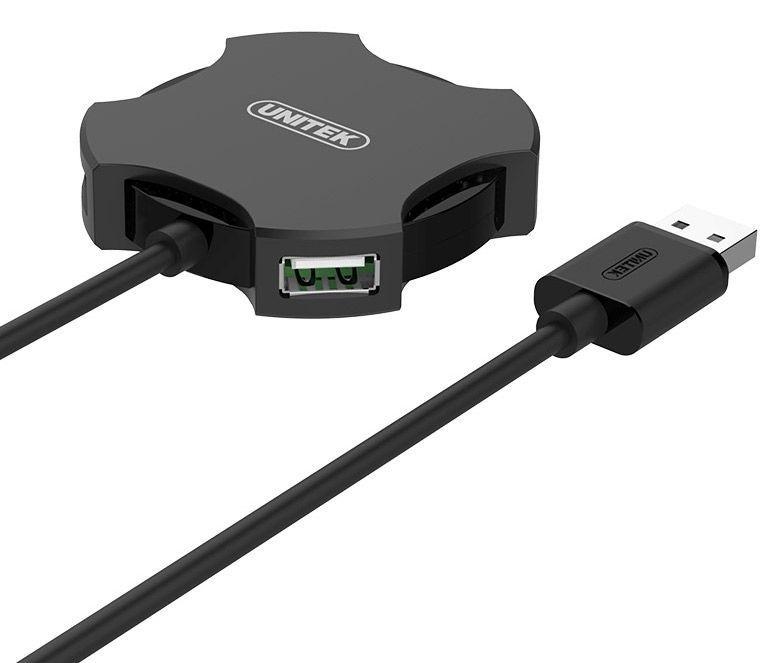 USB-разветвитель (USB-hub) Unitek USB 2.0 4-Port Hub