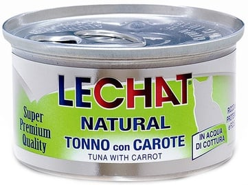 Monge LeChat Morsels of Tuna & Carrots 80g