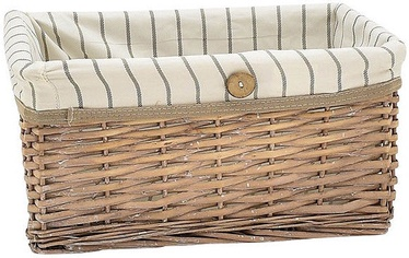 Home4you Basket Willi 3 48x38xH22cm Light Brown