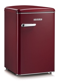 Severin Retro RKS 8831 Refrigerator Wine Red
