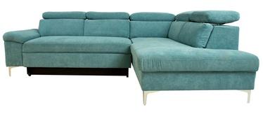 Dīvāngulta Home4you Roselani 14065, zaļa, 200 x 267 x 84 cm