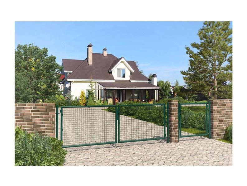 Väravad Garden 115 x 400 cm, roheline