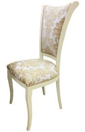 Ēdamistabas krēsls MN Beige/Gold, 1 gab.