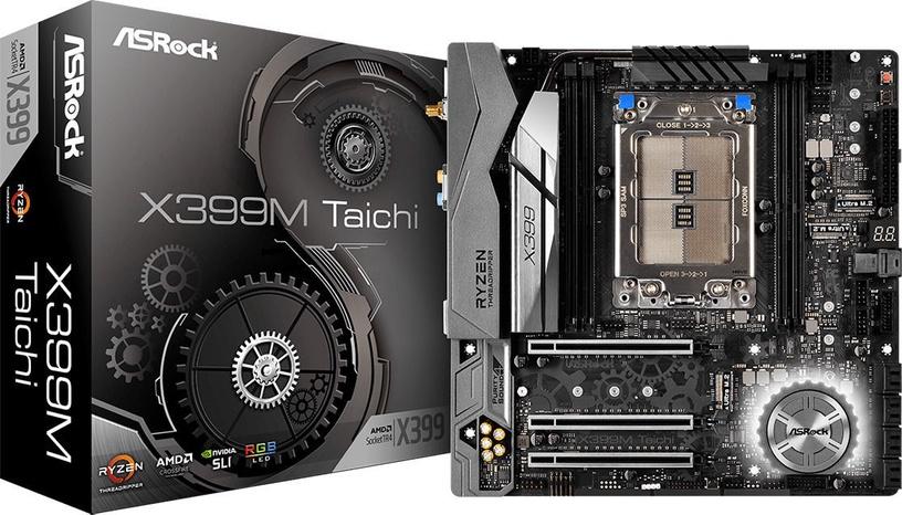 Mātesplate ASRock X399M Taichi