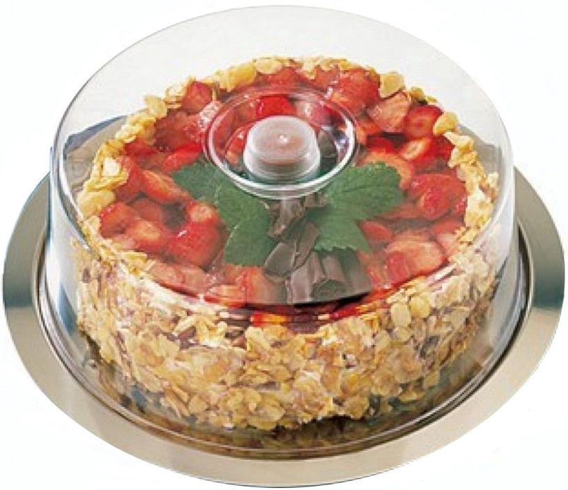 Arkolat Cake Tray With Lid D30cm
