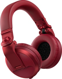 Ausinės Pioneer HDJ-X5BT Over-Ear Bluetooth DJ Red, belaidės