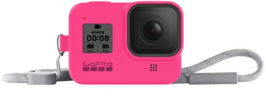 GoPro Sleeve + Lanyard For Hero8 Pink