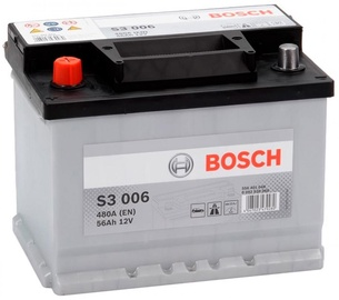 Bosch Starter Battery S3 006 56Ah