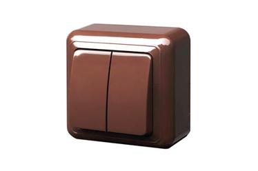 Jungiklis Liregus Delta, 2kl, rudos spalvos