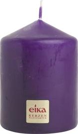 Eika Pillar Candle 8x6cm Purple