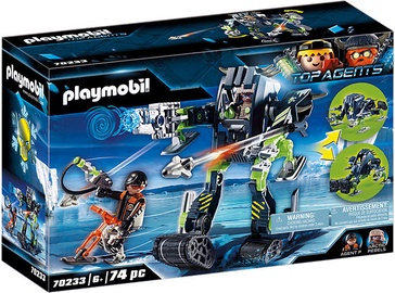 Playmobil Top Agent Arctic Rebels Ice Robot 70233