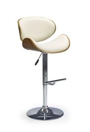 Ēdamistabas krēsls Halmar H44 Walnut/Cream