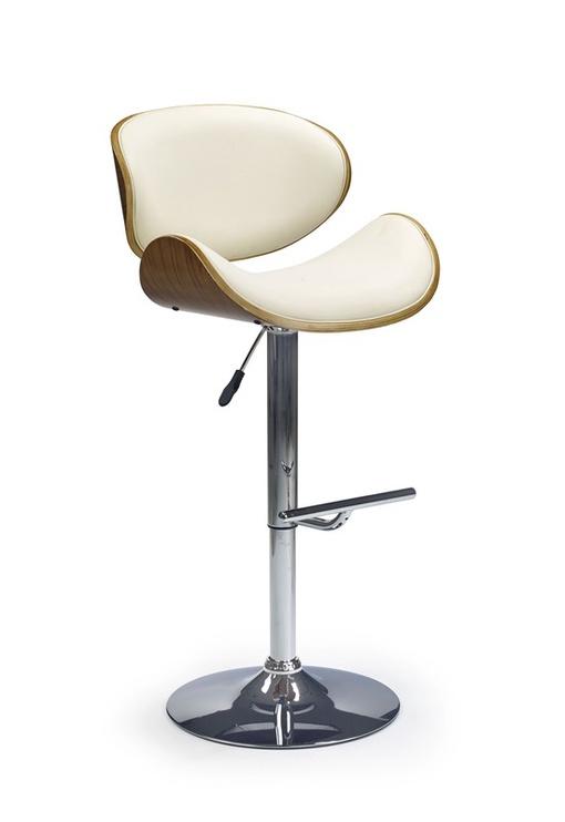 Valgomojo kėdė Halmar H44 Walnut/Cream