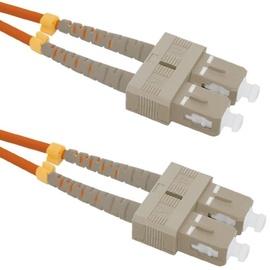 Qoltec Fiber Optic Cable Multimode SC/UPC to SC/UPC 50/125 OM2 5m