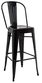 Signal Meble Loft H-1 Hoker Bar Stool Black