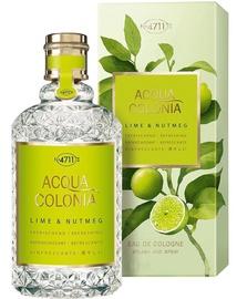 Smaržas 4711 Acqua Colonia Refreshing Lime & Nutmeg 170ml EDC Unisex