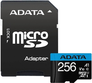 Adata Premier 256GB Micro SDXC V10 + SD Adapter