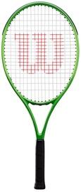 Tennisereket Wilson Blade Feel 25, must/roheline
