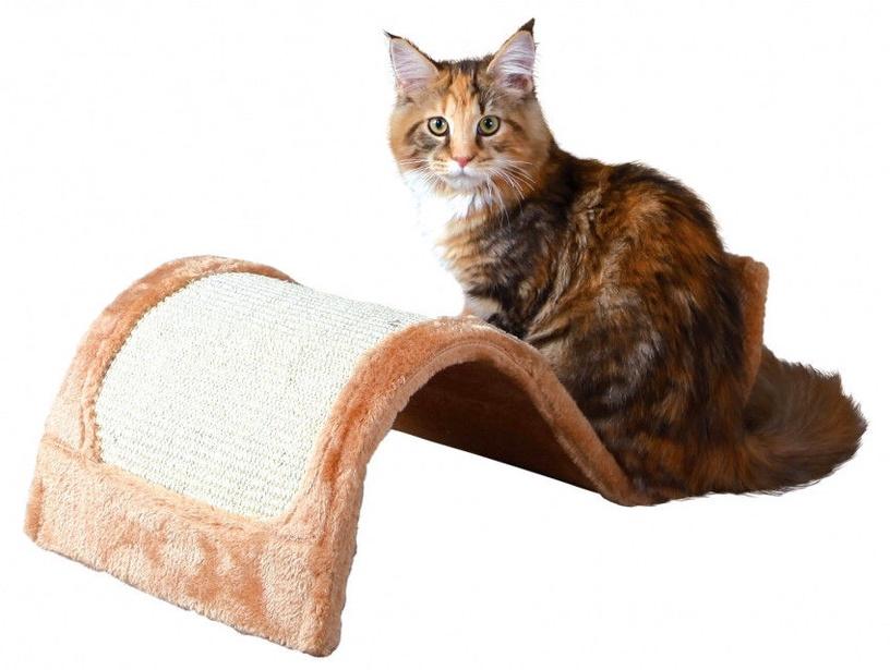 Когтеточка для кота Trixie 43260 Wavy Scratching Wave Brown