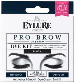 Kulmuvärv Eylure Pro-Brow Dybrow Black, 15 ml
