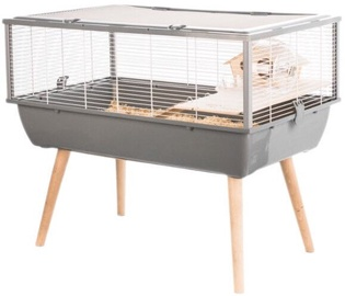 Zolux Neo Nigha Rodents Cage Grey