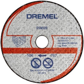 Dremel DSM20 Metal Cutting Disc 77mm