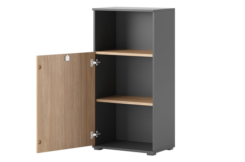 Szynaka Meble Omega 06 Shelf 60x122x38cm Oak