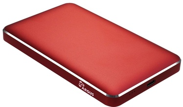 "Inter-Tech 2.5"" HDD/SSD External Case Red GD-25609"
