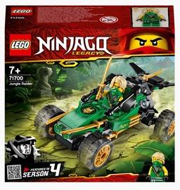 Конструктор LEGO Ninjago Legacy Тропический внедорожник 71700, 127 шт.