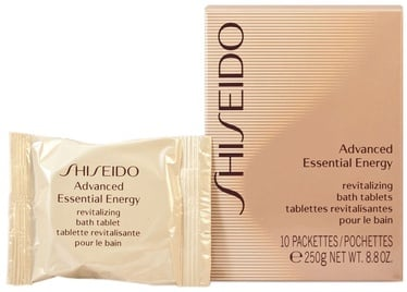 Shiseido Advanced Essential Energy Revitalizing Bath Tablets 250g