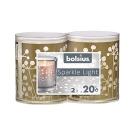 Žvakių komplektas bolsius, 6 x 10 cm, 20 val, 2 vnt.