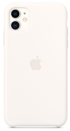 Apple Silicone Back Case For Apple iPhone 11 White (pažeista pakuotė)